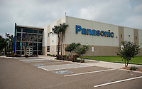 Panasonic recently expanded its operations in the Sharyland Business Park in McAllen, Texas, Sunday, April 4, 2010. Trade with Mexico is flourishing in this town despite the spike in drug-related violence south of the border. While the State Department issues travel warnings to nearby Mexican cities, the number of good-laden trucks that crosses into McAllen is growing, as is trade-related investment. ...PHOTO/ Matt Nager