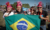 LISBOA, PORTUGAL, 26 DE MAIO 2012 - ROCK IN RIO LISBOA - MOVIMENTACAO  - Publico e visto , no segundo dia do Rock In Rio Lisboa na cidade do Rock em Lisboa Portugal nessa sexta feira 25. FOTO: VANESSA CARVALHO - BRAZIL PHOTO PRESS.