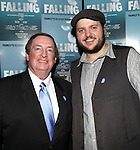 Producer Terry Schnuck and Daniel Everidge attending the Off-Broadway Opening Night Performance After Party for 'Falling' at Knickerbocker Bar & Grill on October 15, 2012 in New York City.