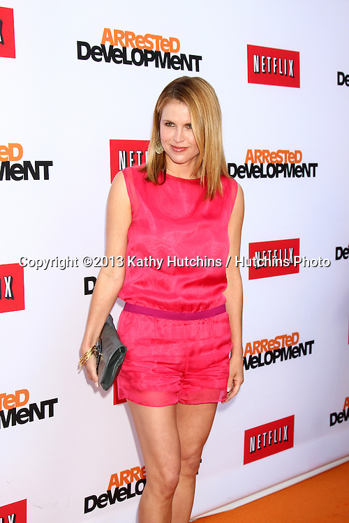 """LOS ANGELES - APR 29:  Laurie Fortier arrives at the """"Arrested Development"""" Los Angeles Premiere at the Chinese Theater on April 29, 2013 in Los Angeles, CA"""