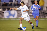 05 December 2008: North Carolina's Tobin Heath. The University of North Carolina Tar Heels defeated the University of California Los Angeles Bruins 1-0 at WakeMed Soccer Park in Cary, NC in an NCAA Division I Women's College Cup semifinal game.