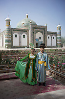 "Kashi, Xinjiang Province, May 2014 - Abakh Hoja Tomb, or  ""The Tomb of Fragrant Concubine"""