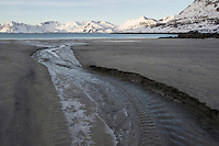Isole Lofoten nella foto spiaggia geografico Svolv&aelig;r 13/02/2016 foto Matteo Biatta<br /> <br /> Lofoten Islands in the picture beach geographic Svolv&aelig;r 13/02/2016 photo by Matteo Biatta