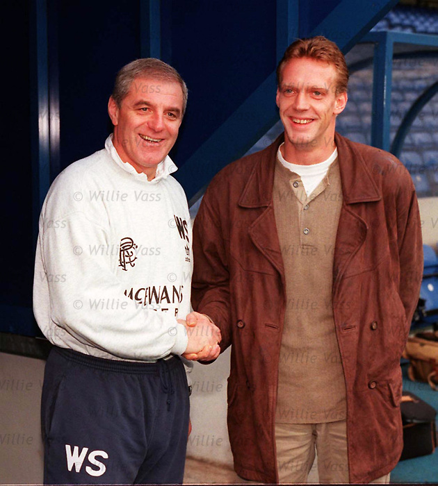 Walter Smith and Peter Van Vossen