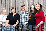 At the Troubadour night on Friday at the Rose Hotel part of the Christie Hennessy Weekend were Dolly Lawlor, Margaret Canty, Loretta Weir, Emily Corkery  Mairead Egan