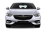 Car photography straight front view of a 2017 Opel Insignia Grand Sport Dynamic 5 Door Hatchback