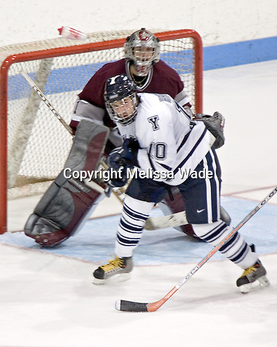 Jeff Hristovski, Mark Dekanich - Colgate University defeated Yale University 6-2 at Ingalls Rink in New Haven, CT on November 5, 2005.