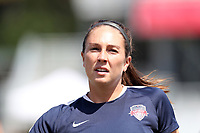 Cary, North Carolina  - Saturday August 19, 2017: Arielle Ship prior to a regular season National Women's Soccer League (NWSL) match between the North Carolina Courage and the Washington Spirit at Sahlen's Stadium at WakeMed Soccer Park. North Carolina won the game 2-0.
