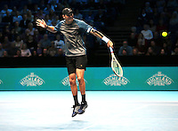 Bob Bryan (USA)and Mike Bryan (USA)(3)action against  Jimmy Murray (GBR) and Bruno Sobres (BRA)(2)in their Fleming/McEnroe Group  match during Day Three  of the Barclays ATP World Tour Finals 2015 played at The O2 Arena, London on November 15th  2016<br /> <br /> <br /> <br /> <br /> (BLR)(8)   in their Edberg/ Jarryd /Group  match during Day Three  of the Barclays ATP World Tour Finals 2015 played at The O2 Arena, London on November 15th  2016