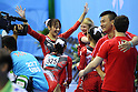 Japan Women's national team group, ..AUGUST 13, 2011 - Artistic Gymnastics : ..The 26th Summer Universiade 2011 Shenzhen ..Women's Team competition ..at Shenzhen Baoan Gymnasium, Shenzhen, China. ..(Photo by YUTAKA/AFLO SPORT) [1040]