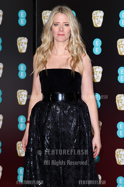 Edith Bowman arriving for the BAFTA Film Awards 2018 at the Royal Albert Hall, London, UK. <br /> 18 February  2018<br /> Picture: Steve Vas/Featureflash/SilverHub 0208 004 5359 sales@silverhubmedia.com
