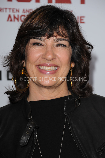 "WWW.ACEPIXS.COM . . . . . .December 5, 2011, New York City....Christiane Amanpour attends the New York Premiere of Angelina Jolie's ""In The Land Of Blood and Honey"" at the School of Visual Arts on December 5, 2011 in New York City....Please byline: KRISTIN CALLAHAN - ACEPIXS.COM.. . . . . . ..Ace Pictures, Inc: ..tel: (212) 243 8787 or (646) 769 0430..e-mail: info@acepixs.com..web: http://www.acepixs.com ."