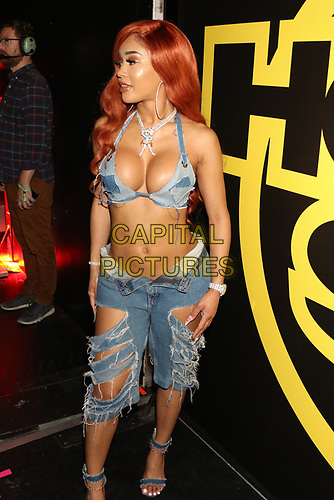 NEW YORK, NY - JUNE 2, 2019 Saweetie backstage at Summer Jam at Met Life Stadium, June 2, 2019 in East Rutherford, NJ. <br /> CAP/MPIWG<br /> ©WG/MPI/Capital Pictures