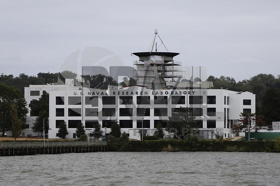 WASHINGTON DC, EUA, 06.10.2019 - MARINHA-WASHINGTON DC - Laboratório de Pesquisa da Marinha dos Estados Unidos, visto do Rio Potomac, na cidade de Washington DC, capital dos Estados Unidos, neste domingo, 6. (Foto Charles Sholl/Brazil Photo Press)