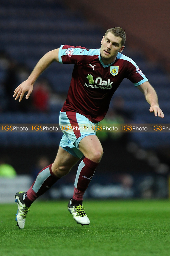 Sam Vokes of Burnley during Preston North End vs Burnley, Sky Bet Championship Football at Deepdale on 22nd April 2016