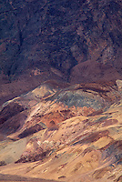 739650006 colored sandstone formations along artist's pallete drive in death valley national park californai