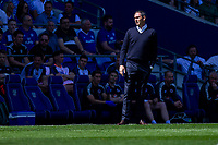 Reading manager Paul Clement during the Sky Bet Championship match between Cardiff City and Reading at the Cardiff City Stadium, Cardiff, Wales on 6 May 2018. Photo by Mark  Hawkins / PRiME Media Images.