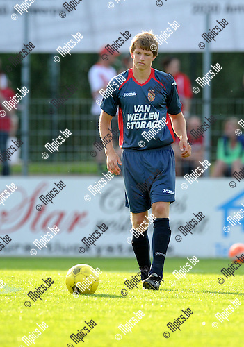 2013-07-16 / Voetbal / seizoen 2013-2014 / Kapellen FC - R. Antwerp FC / Niels Vissers-Similon<br /><br />Foto: Mpics.be
