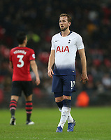 Tottenham Hotspur's Harry Kane<br /> <br /> Photographer Rob Newell/CameraSport<br /> <br /> The Premier League - Tottenham Hotspur v Southampton - Wednesday 5th December 2018 - Wembley Stadium - London<br /> <br /> World Copyright © 2018 CameraSport. All rights reserved. 43 Linden Ave. Countesthorpe. Leicester. England. LE8 5PG - Tel: +44 (0) 116 277 4147 - admin@camerasport.com - www.camerasport.com