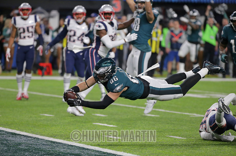 Super Bowl LII - Philadelphia Eagles  vs New England Patriots on February 4, 2018 in Minneapolis, Minnesota. (Photo by Hunter Martin/Philadelphia Eagles)