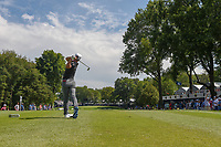 Thorbjorn Olesen (DEN) watches his tee shot on 16 during 1st round of the 100th PGA Championship at Bellerive Country Club, St. Louis, Missouri. 8/9/2018.<br /> Picture: Golffile | Ken Murray<br /> <br /> All photo usage must carry mandatory copyright credit (© Golffile | Ken Murray)