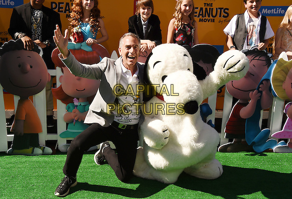 WESTWOOD, CA - NOVEMBER 01: Director Steve Martino attends the Premiere of 20th Century Fox's 'The Peanuts Movie' at the Regency Village Theatre on November 1, 2015 in Westwood, California.<br /> CAP/ROT<br /> &copy;Lee Roth/Capital Pictures