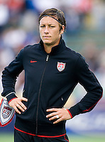Abby Wambach. The USWNT defeated Japan, 2-0,  at WakeMed Soccer Park in Cary, NC.
