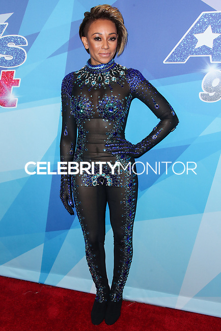 HOLLYWOOD, LOS ANGELES, CA, USA - AUGUST 15: Mel B, Melanie Brown arrives at NBC's 'America's Got Talent' Season 12 Live Show held at Dolby Theatre on August 15, 2017 in Hollywood, Los Angeles, California, United States. (Photo by Xavier Collin/Celebrity Monitor)