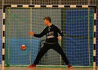 Andreas Krasusky (Crumstadt/Goddelau) geschlagen - Crumstadt 02.12.2018: ESG Crumstadt/Goddelau vs. HSG Langen