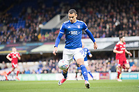 Kayden Jackson of Ipswich Town in action during Ipswich Town vs Accrington Stanley, Sky Bet EFL League 1 Football at Portman Road on 11th January 2020