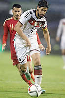 Spain's Pedro Rodriguez (b) and Germany's Khedira during international friendly match.November 18,2014. (ALTERPHOTOS/Acero) /NortePhoto<br />