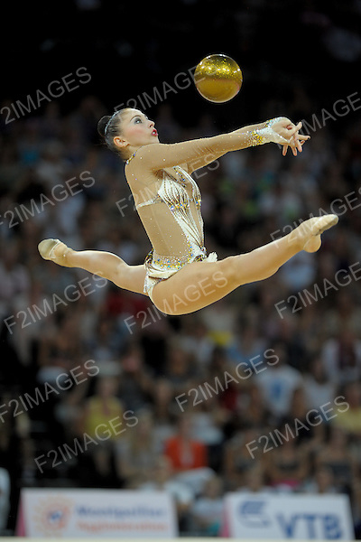 Rhythmic World Championships Montpelier France 20.9.11. Individual Overall Competition. Daria KONDAKOVA of Russia