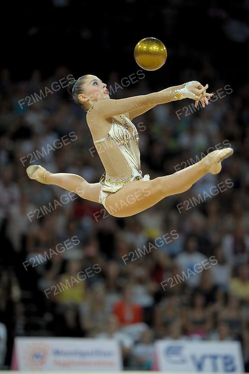 Rhythmic World Championships Montpelier France 20.9.11. Individual Overall Competition. Daria KONDAKOVA of Russia