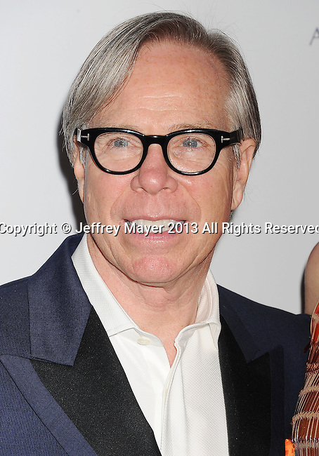 CENTURY CITY, CA- MAY 03: Designer Tommy Hilfiger arrives at the 20th Annual Race To Erase MS Gala 'Love To Erase MS' at the Hyatt Regency Century Plaza on May 3, 2013 in Century City, California.