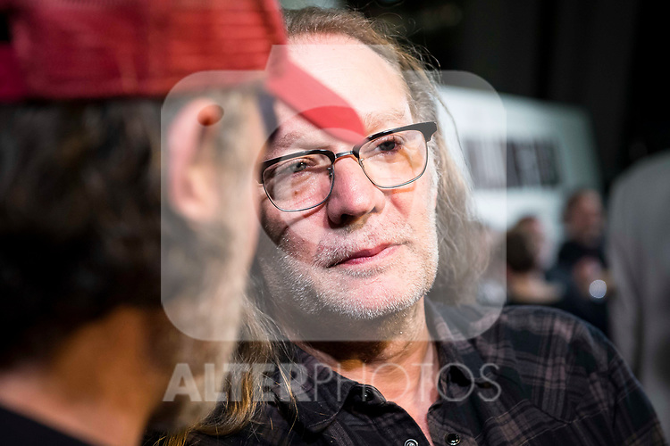 "The director of the series, Greg Nicotero attends to an event with fans of ""The Walking Dead"" at Cines Capitol in Madrid. March 09, 2017. (ALTERPHOTOS/Borja B.Hojas)"