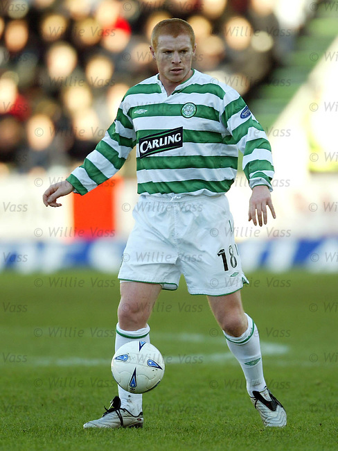 Neil Lennon, Celtic.pic willie vass