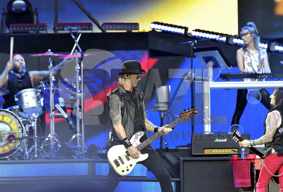 PARIS, FRANÇA, 08.07.2018 - SHOW-PARIS - A banda Guns and Roses durante show em Paris na França neste sabado, 08. (Foto: JMFR/Brazil Photo Press)