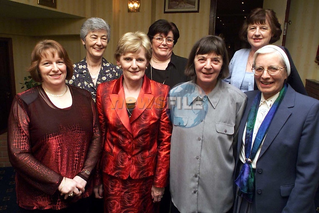 Noreen Power (3rd from left) at her retirement party in the Boyne Valley Hotel with colleagues from St. Mary's Hospital. Pictured with Noreen are from left, Mary Haughey, Maeve Taylor, Winafred Collier, Kathleen Connolly, Mollie Burke and Sr. Camillus..Picture: Paul Mohan/Newsfile