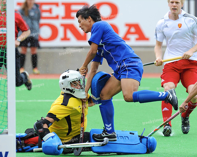 Mens Samsung Champions Trophy, Melbourne 2009, 5-12-09.Day 5, Korea v England.Photo: Grant Treeby.