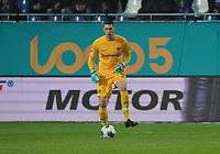 Torwart Florian Stritzel (SV Darmstadt 98) - 04.10.2019: SV Darmstadt 98 vs. Karlsruher SC, Stadion am Boellenfalltor, 2. Bundesliga<br /> <br /> DISCLAIMER: <br /> DFL regulations prohibit any use of photographs as image sequences and/or quasi-video.
