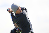 Thorbjorn Olesen (DEN) on the 4th tee during Round 1 of the Open de Espana 2018 at Centro Nacional de Golf on Thursday 12th April 2018.<br /> Picture:  Thos Caffrey / www.golffile.ie<br /> <br /> All photo usage must carry mandatory copyright credit (&copy; Golffile | Thos Caffrey)