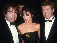 Andrew Lloyd Webber Sarah Brightman Michael Crawford 1986<br /> Opening night Phantom of the Opera<br /> Photo By Adam Scull/PHOTOlink.net