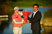 The 2018 Kia Classic tournament Champion Eun-Hee Ji (KOR) during the Final Round at the Kia Classic,Park Hyatt Aviara Resort, Golf Club &amp; Spa, Carlsbad, California, USA. 1/2/12.<br /> Picture: Golffile | Bruce Sherwood<br /> <br /> <br /> All photo usage must carry mandatory copyright credit (&copy; Golffile | Bruce Sherwood)