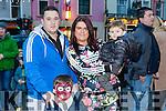 Enjoying the Christmas Lights in Listowel were Paul O'Gorman, Liam O'Gorman, Rachel Wilmott and Kegan O'Gorman