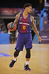 League ACB-ENDESA 2017/2018 - Game: 27.<br /> FC Barcelona Lassa vs Real Betis Energia Plus: 121-56.<br /> Edwin Jackson.