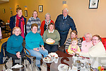 60th Birthday : Patricia Borley celebrating her 60th birthday with her friends from the Listowel kniitting  club at Scribes Restaurant, Listowel on Saturday morning last. Front : Mary Boyer, Una Hayes, Patricia Biorley, Ruth O'Quigley, Siobhan Leahy, Maureen Connolly & Marie Leahy. Back : Isobel Barrett, Anne Egan, Mary Cogan & Graham Borley.