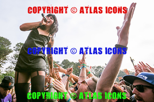 Sleigh Bells; Live: 2017<br /> Photo Credit: JOSH WITHERS/ATLASICONS.COM
