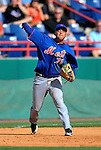10 March 2012: New York Mets infielder Wilmer Flores in action during a Spring Training game against the Washington Nationals at Space Coast Stadium in Viera, Florida. The Nationals defeated the Mets 8-2 in Grapefruit League play. Mandatory Credit: Ed Wolfstein Photo