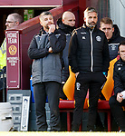 15.12.2019 Motherwell v Rangers: Stephen Robinson