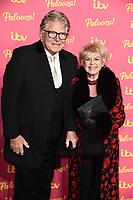 LONDON, UK. November 12, 2019: Gloria Hunniford arriving for the ITV Palooza at the Royal Festival Hall, London.<br /> Picture: Steve Vas/Featureflash
